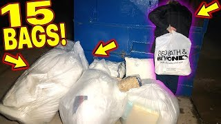 BED BATH & BEYOND LEFT US *15 FULL BAGS! IN THEIR DUMPSTER! MASSIVE HAUL!
