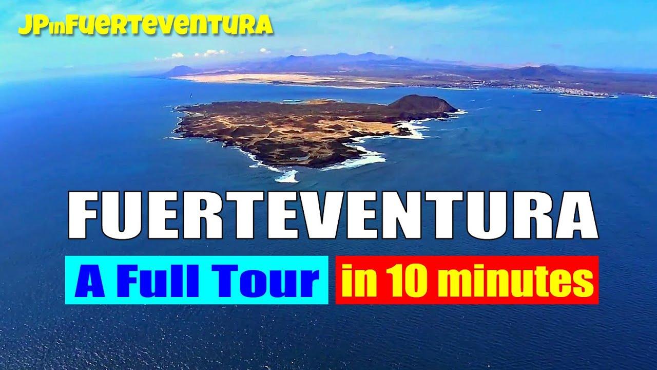 Download Fuerteventura tour in 10 minutes - What is Fuerteventura like?
