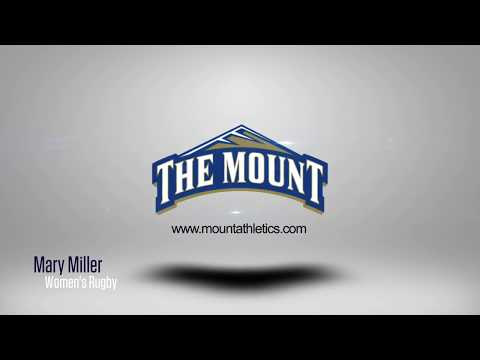 Mount St. Mary's 2017 Women's Rugby Player Introductions: Mary Miller