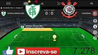 América -mg 0x0 Corinthians + Bahia 0x0 Flamengo  campeonato brasileiro 2018 serie A