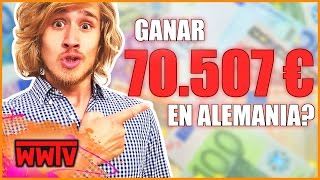 Cuánto Dinero se puede ganar en Alemania (y gastar)? │Curiosidades de Alemania y México | WeroWeroTV