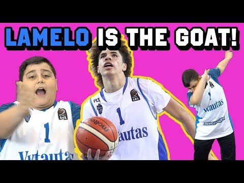 Luca Two Times Dances On LAMELO BALL And REACTS To His Lithuania Highlights! Viral Instagram Star