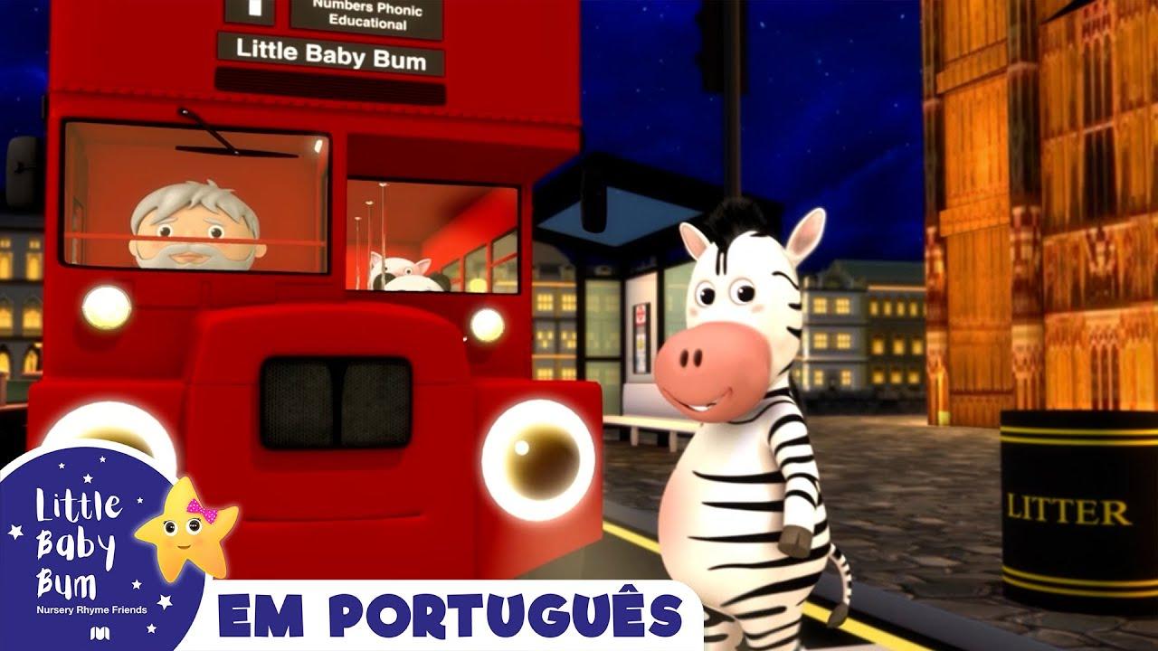 Rodas do Ônibus    Canções para crianças   Little Baby Bum em Português