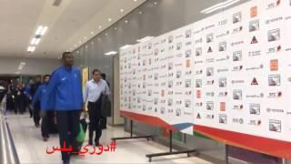 لحظة وصول لاعبي #الهلال لملعب الجوهرة لمواجهة #الأهلي في الجولة 10 من #دوري_جميل