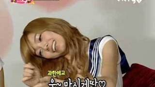 『3/5』 090804 SHINee FBG - Jessica, Sunny, & Hyoyeon (eng)