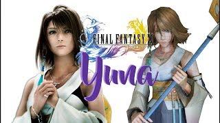 Final Fantasy Papercraft   FFX Yuna 【ペーパークラフト】