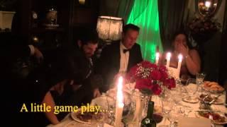 Halloween Vampire Murder Mystery dinner party game.