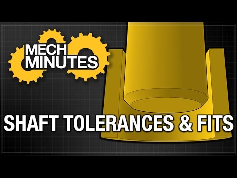 SHAFTS PT. 3: SHAFT TOLERANCES & FITS | MECH MINUTES | MISUMI USA