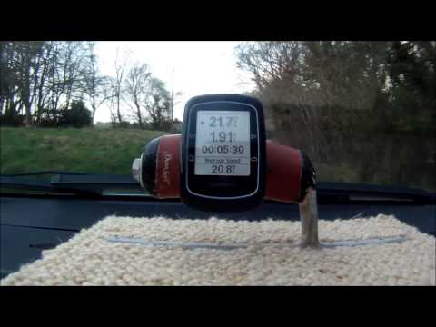 Garmin Edge 200 Course Navigation