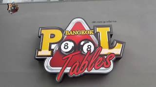 Thailand Pool Tables Bangkok showroom