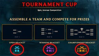NEW LEAGUE TOURNAMENT MODE AND FREE HEXTECH PRIZES!!!