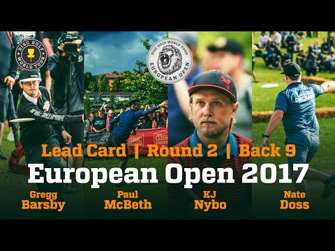 European Open 2017 Lead Card Round 2 Back 9