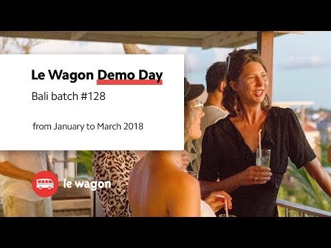 5 apps developed at Le Wagon Bali - Batch #128