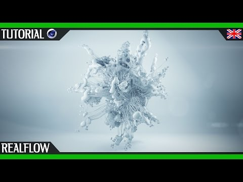Mograph with Realflow Cinema 4D | Thinking Particles | English Tutorial motion design
