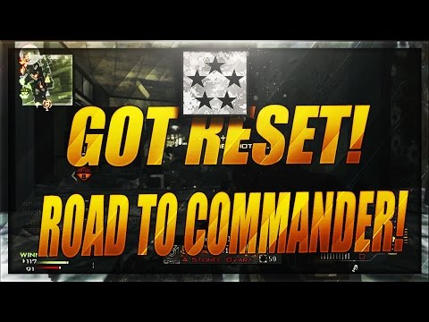 THIS HACKER RESET MY STATS ON MODERN WARFARE 3! THE GRIND TO COMMANDER