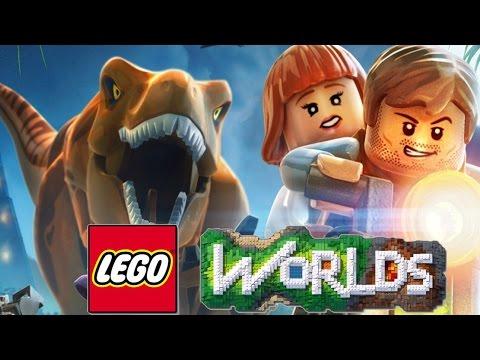 PLANETA DOS DINOSSAUROS ! ( LEGO WORLD )
