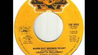 Loleatta Holloway - Worn Out Broken Heart.wmv