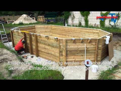 holzpool proswell by procopi youtube. Black Bedroom Furniture Sets. Home Design Ideas