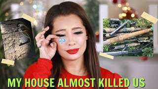 MY CRAZY DANGEROUS HOUSE PROBLEMS... what to look out for when buying a home