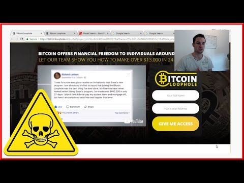 Bitcoin Loophole Review - Yes Bitcoin LoopHole Is A SCAM!