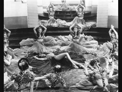 """MARLENE DIETRICH. """"TELL ME, TELL ME, EVENING STAR"""" (Kismet). 1944"""