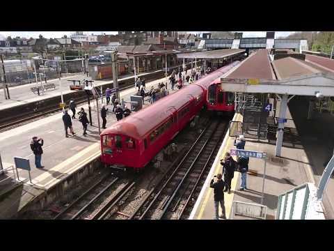 London Transport Museum 1938 Stock Tube Train 17/03/19