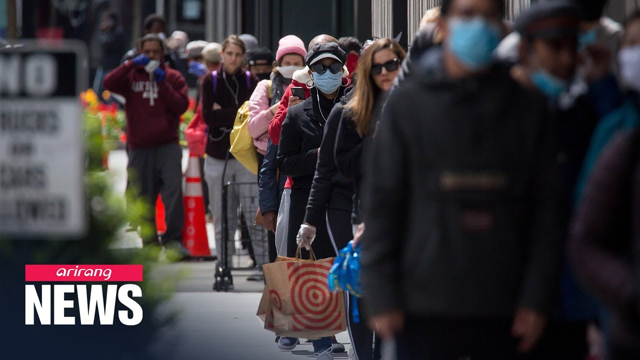 COVID-19 wordwide; New Yorkers must wear masks while Europe considers easing containment measures