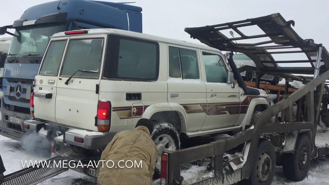 Новый Toyota Land Cruiser 76 Авто из ОАЭ Мега Авто - YouTube