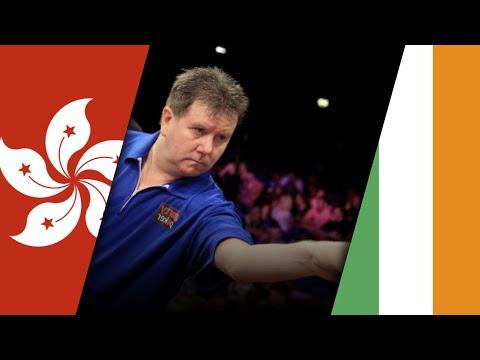 Darts World Cup 2015: Hongkong vs Ireland | 2nd Round | English