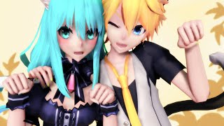 Video 【MMD PV】Ah, It's a Wonderful Cat Life +Eng Sub 【初音ミク・鏡音レン】 download MP3, 3GP, MP4, WEBM, AVI, FLV Agustus 2018