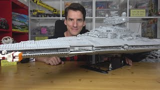 "700€?? Ernsthaft, LEGO®? Die bunte Pest: Star Wars 75252 UCS Star Destroyer ""Devastator"""