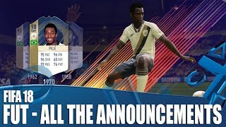 FIFA 18 - All The Ultimate Team Announcements You've Been Waiting For