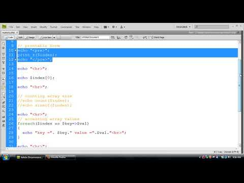 What Is Array In PHP? | Array Plus Index Array