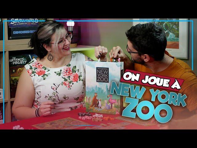 [On joue à] NEW YORK ZOO chez Super Meeple