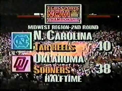 UNC vs  OU 1990