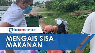 Download Mp3 Viral Video Kakek Mengais Sisa Makanan Di Tumpukan Sampah, Cari Roti Untuk Berbu