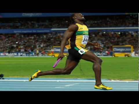 JAMAICA MUSIC ViDEO MIX: 4x100m Team Jamaica & Usain Bolt Daegu September 4, 2011