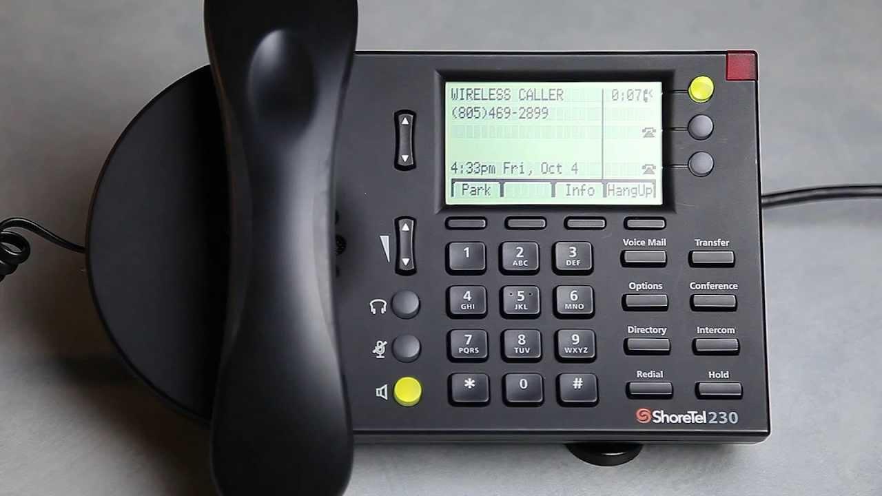 Transferring Calls With A Shoretel Ip Phone Youtube