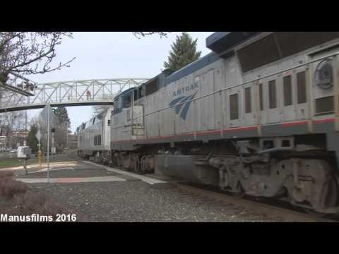 Amtrak Coast Starlight #14 At Salem, OR