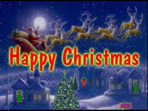 HAPPY CHRISTMAS (with lyrics) John Lennon - YouTube
