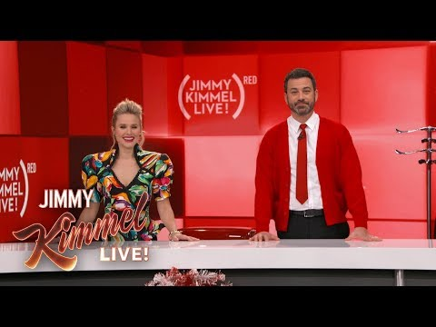 Holiday Shopping with Jimmy Kimmel & Kristen Bell – RED Shopathon