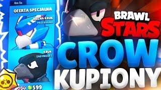 CROW JUŻ KUPIONY  BRAWL STARS POLSKA OPENING (odc.66)