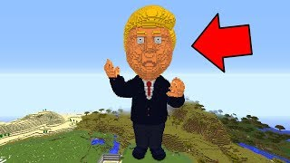 MEGA DONALD TRUMP TAKES OVER MINECRAFT!
