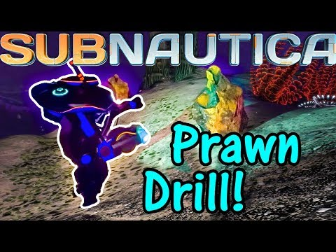 Let's Play Subnautica #35: Prawn Drilling!