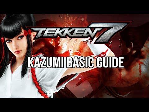 KAZUMI MISHIMA Basic Guide - TEKKEN 7 (Basic To Pro)