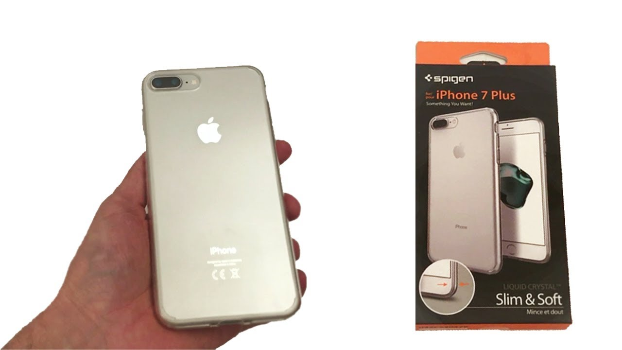 coque transparente iphone 8 plus spigen