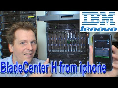 Power consumption of IBM BladeCenter H on Iphone app - 175