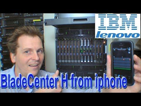 Power consumption of IBM BladeCenter H on Iphone app - 175