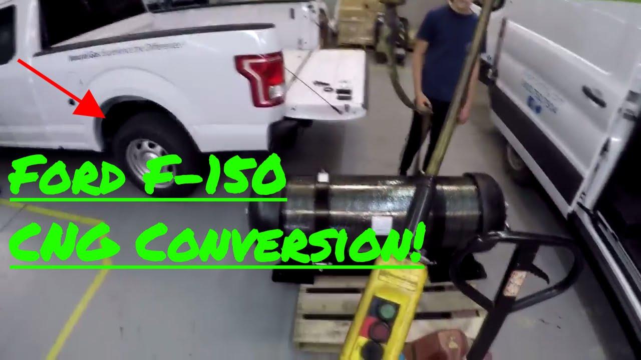 2017 Ford F-150 Bi-Fuel Conversion [CNG]