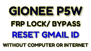 How To Flash Gionee P5W